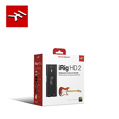 IK Multimedia iRig HD2 行動錄音介面