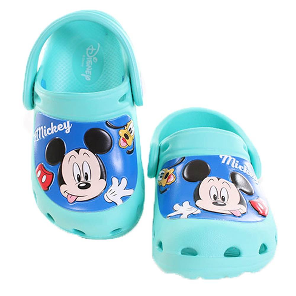 迪士尼 米奇 休閒輕便鞋 綠 sh9994 魔法Baby