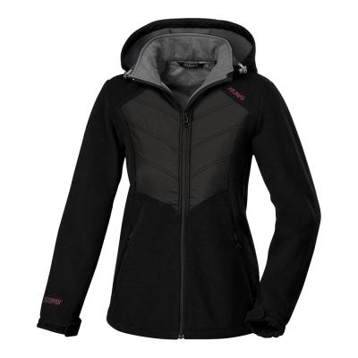 歐都納WINDSTOPPER女款科技纖維外套 A-G1561W 黑