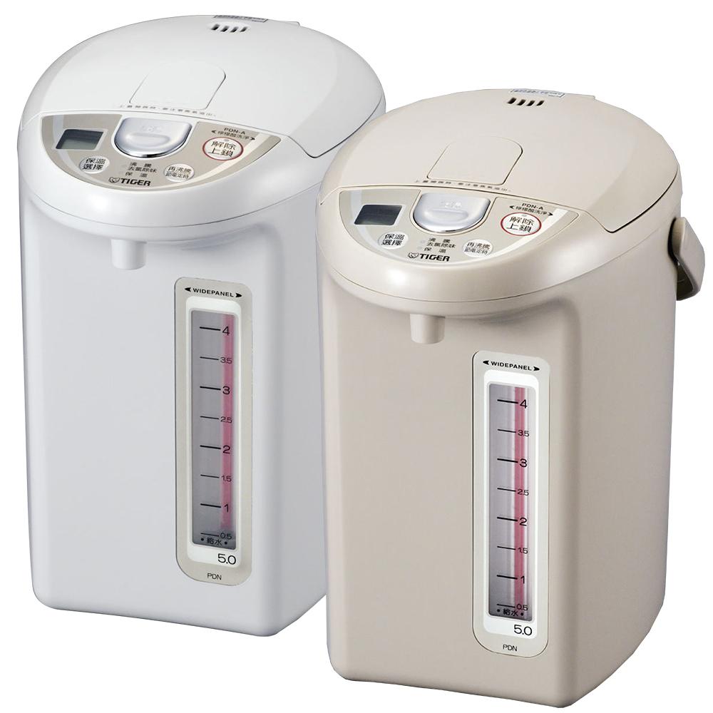 TIGER虎牌 超大按鈕電熱水瓶5.0L(PDN-A50R)