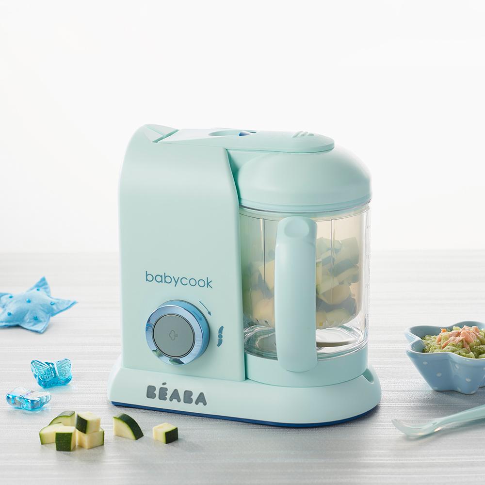 奇哥BEABA BabyCook Solo嬰幼兒副食品調理機-馬卡龍藍