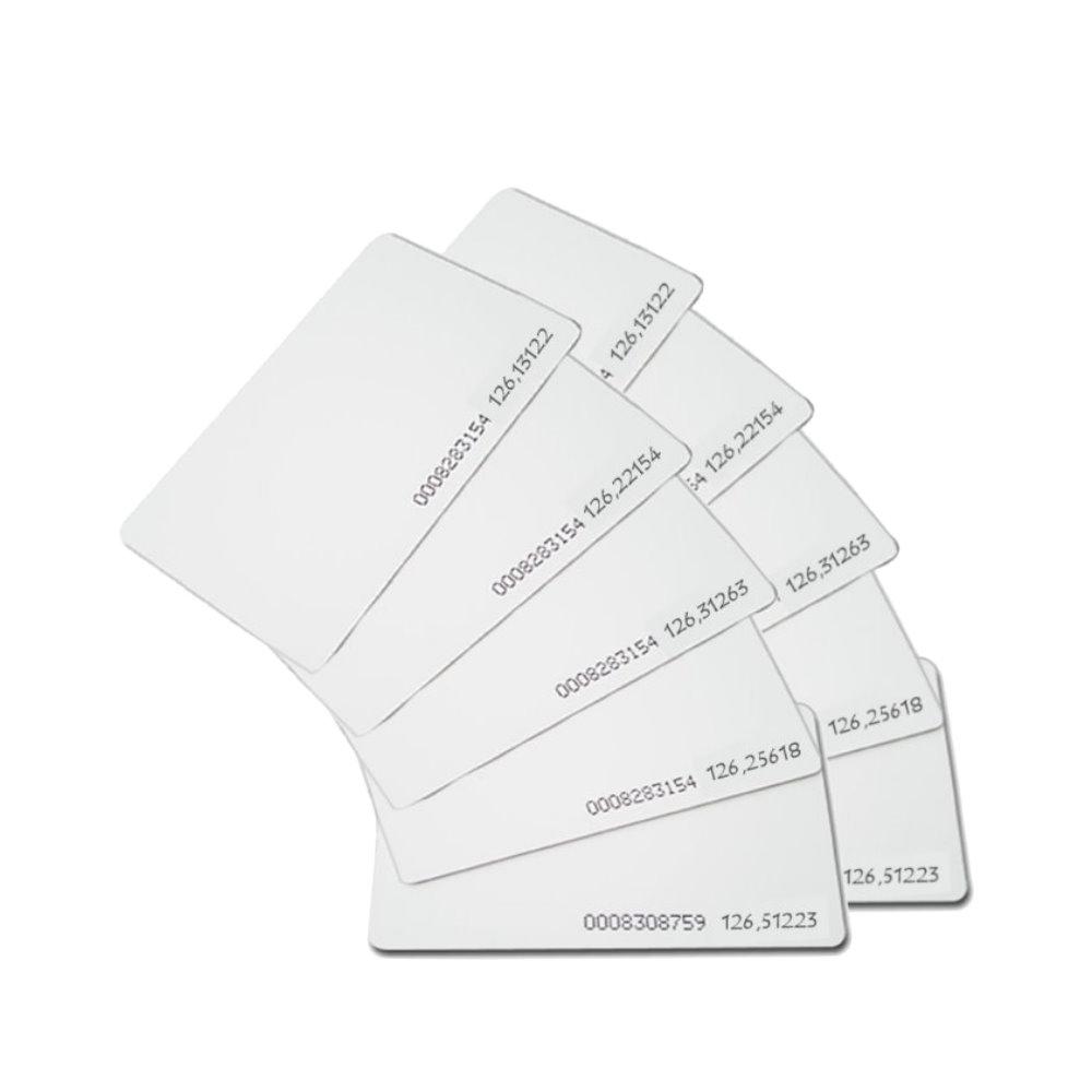 感應式打卡鐘專用RFID感應卡/EM卡 (10張入)