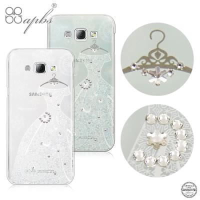 apbs Samsung Galaxy A8 施華洛世奇彩鑽手機殼-禮服系列
