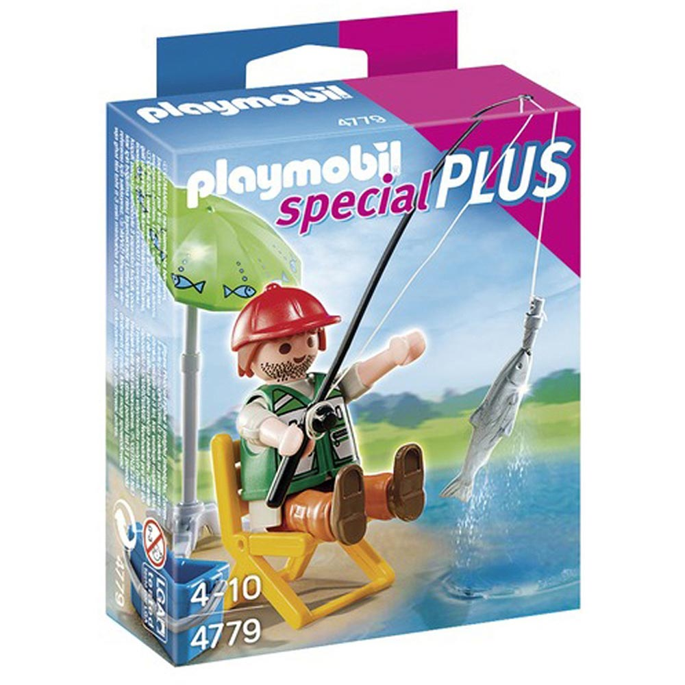 playmobil special plus 摩比人 釣魚男孩