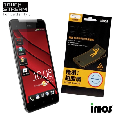 iMos Touch Stream HTC Butterfly S霧面保護貼
