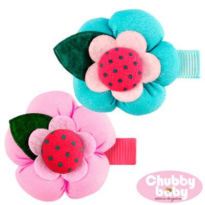 Chubby Baby巧比貝比嬰幼童髮夾flower(H款)