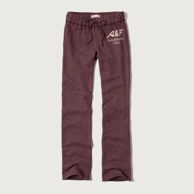 AF a&f Abercrombie & Fitch 女長褲 紅色 0053