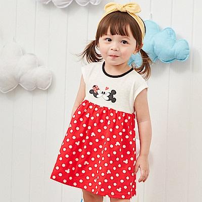 Disney baby 米妮系列小甜蜜圓點洋裝 (2色可選)