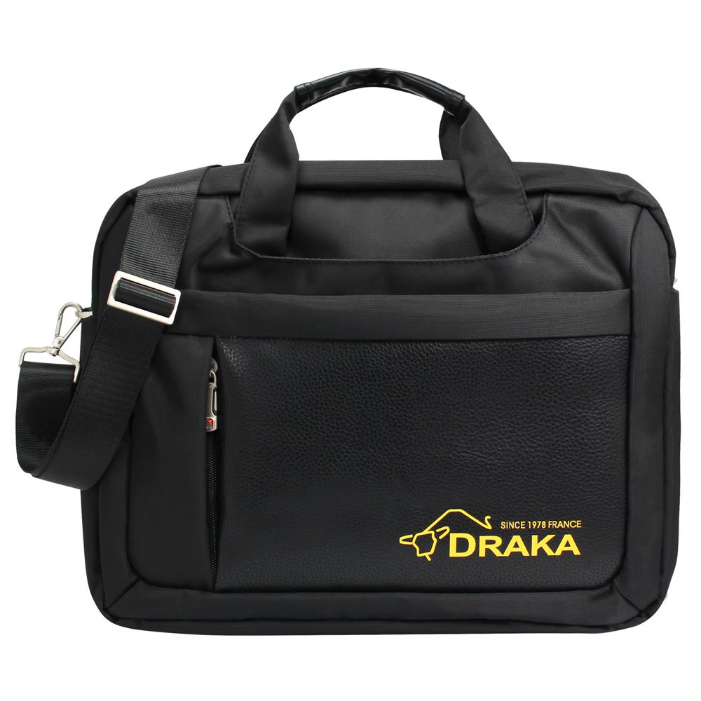 DRAKA 達卡 - 斜背包/側背包/筆電包 商務防潑水系列 都會簡約公事包