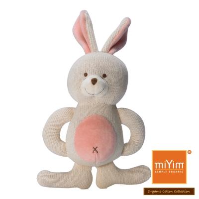 美國miYim有機棉 固齒器 娃娃禮盒系列-兔兔