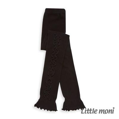 Little Moni 甜美滾邊九分褲襪 (共2色)