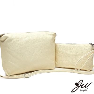 JW-柔軟觸感水洗輕巧子母包-活力黃