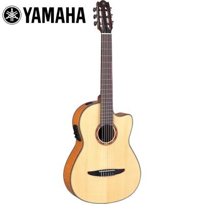 YAMAHA NCX900FMCN 電古典吉他 原木色款