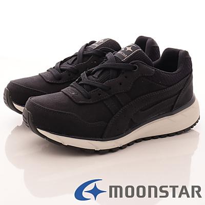 日本Supplist戶外健走鞋-防潑水3E寬楦款-ON438暗藍(女段)