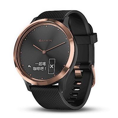 GARMIN Vivomove HR 時尚智慧腕錶 運動款