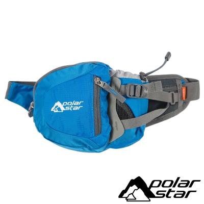 【PolarStar】休閒腰包『藍』露營│健行│旅遊 P15814-501