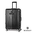 【BENTLEY】29吋PC+ABS 升級鋁框拉桿輕量行李箱-黑