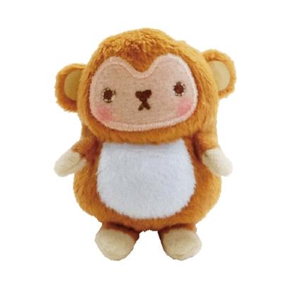 UNIQUE 動物樂園沙包小公仔。小猴子