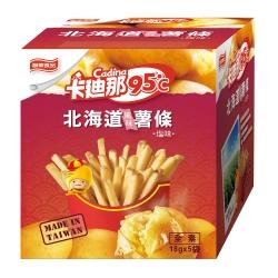 卡迪那 95度C北海道風味薯條(18gx5包)