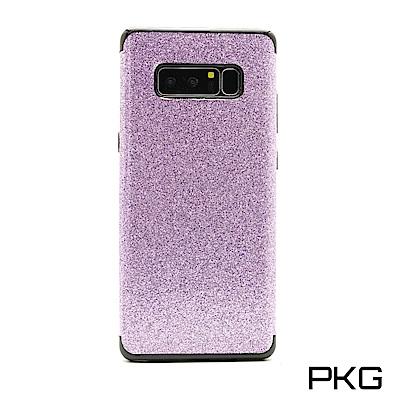 PKG  三星NOTE8 抗震防摔手機殼-時尚閃亮亮晶粉系列