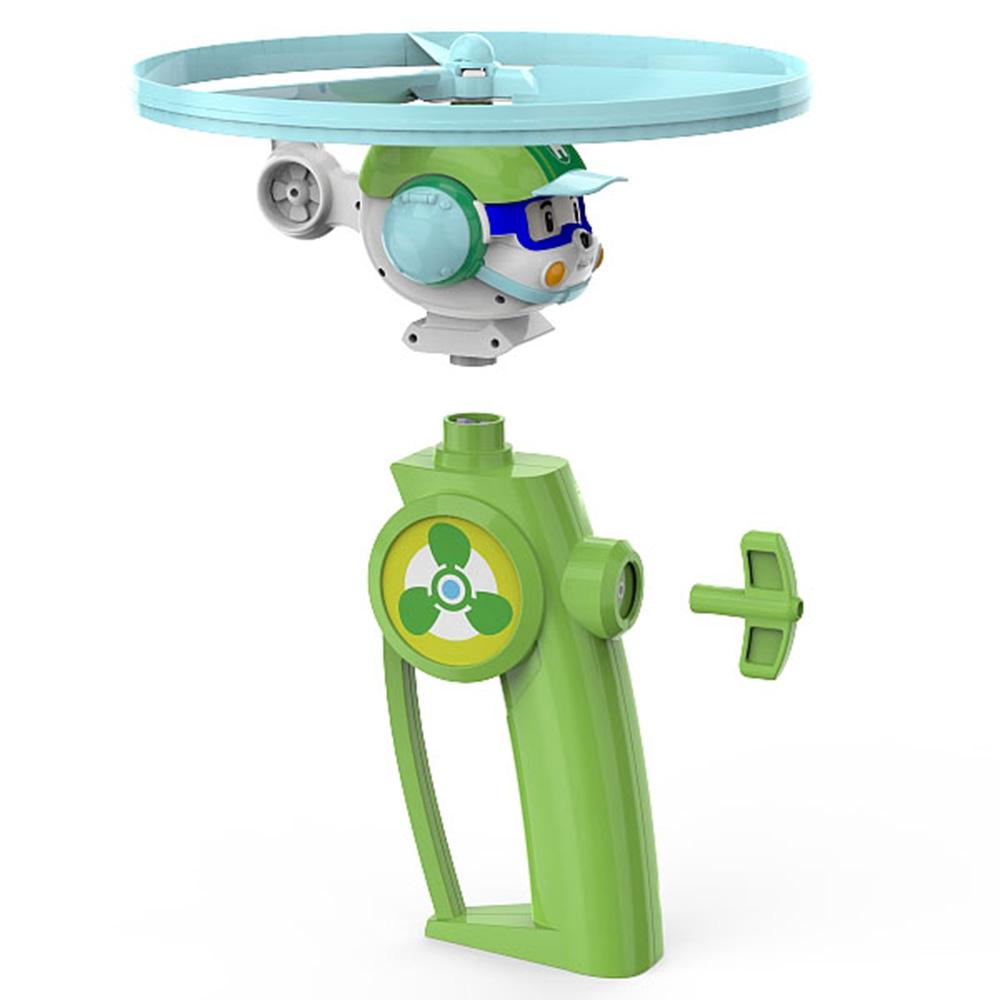 救援小英雄波力Poli 直升機赫利飛行玩具 83315