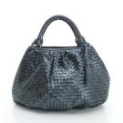 LouiseC. 蛇皮編織圓潤款側背包 - 灰色 LC3199-19