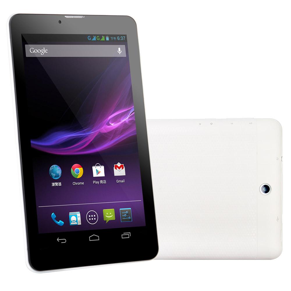 【TIAYA】7吋雙核雙卡雙通話3G版平板電腦(4GB)