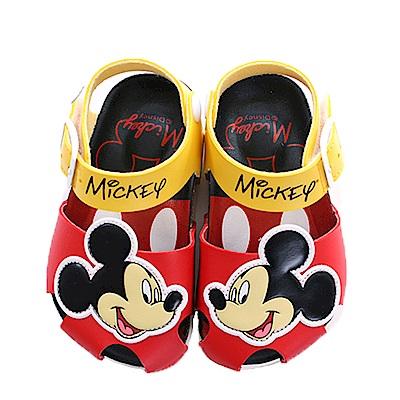 迪士尼米奇魔鬼貼涼鞋 sk0415 魔法Baby