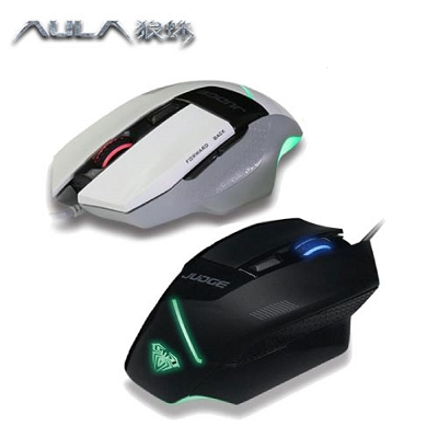 AULA狼蛛 判官 電競遊戲滑鼠 SI-9007