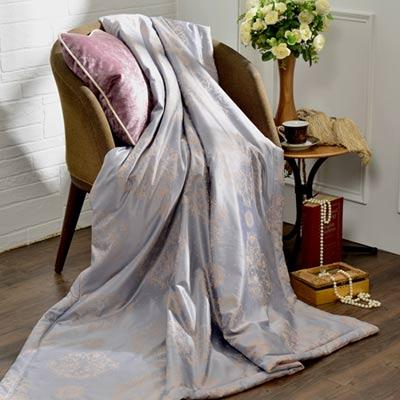 義大利La Belle《克羅帝雅》竹纖維天絲涼被(5x6.5尺)