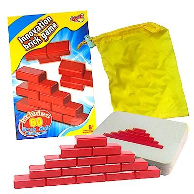 《凡太奇》益智桌遊-瘋狂大挑戰磚牆遊戲 AY2046 - 快速到貨