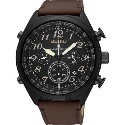 SEIKO精工 Prospex 電波修正功能計時錶(SSG015P1)-45mm