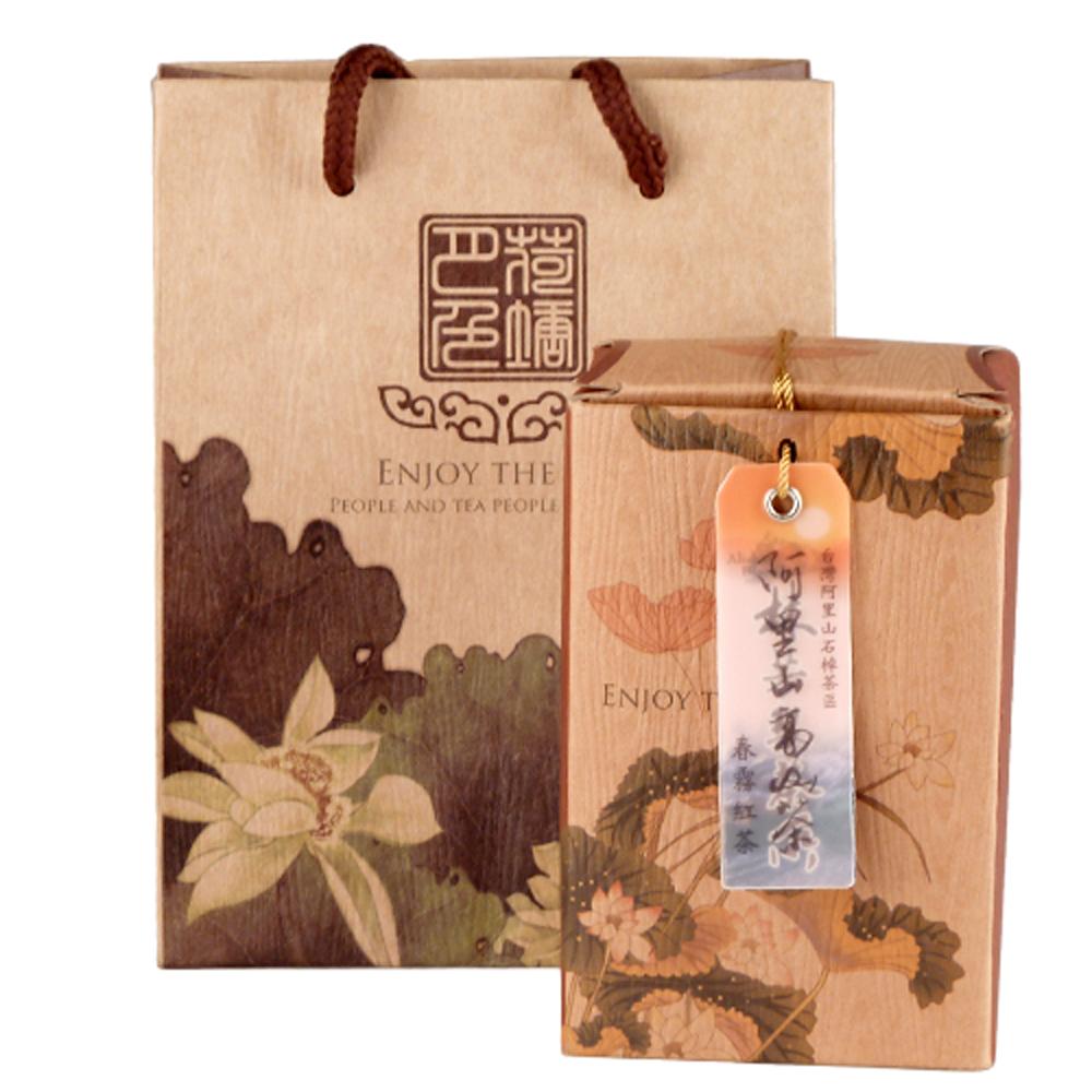 【幸福流域-富春齋】阿里山高山茶春霧紅茶(300g)