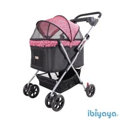 IBIYAYA依比呀呀-小資國民寵物推車-粉紅豹