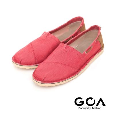 GOA 男款舒適個性休閒鞋-紅