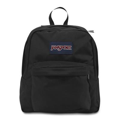 JANSPORT校園後背包-SPRING BREAK系列-黑色