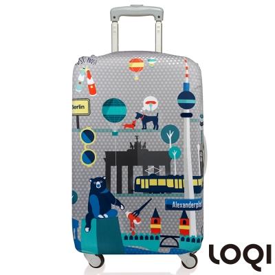 LOQI 行李箱套│柏林L號 適用28吋以上行李箱保護套