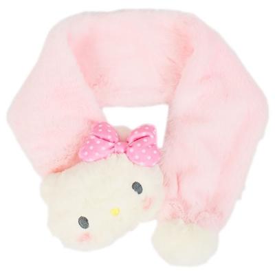 Sanrio HELLO KITTY玩偶造型兒童圍巾(俏皮紅臉頰)