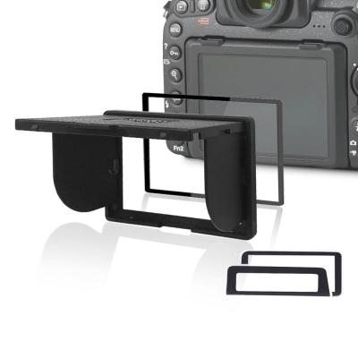 LARMOR V金屬邊框防爆鋼化玻璃相機保護貼-Nikon D4/D4S專用