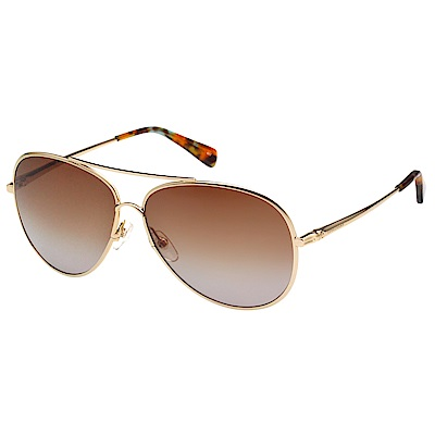 LONGCHAMP 太陽眼鏡 (金色) LO104S