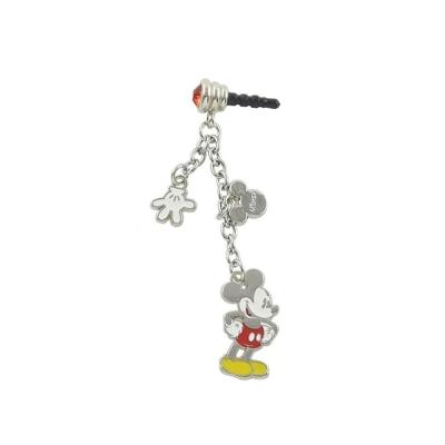 Disney 時尚質感五金耳機防塵塞吊飾