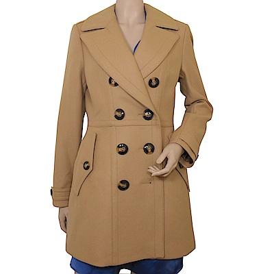 BURBERRY 經典羊毛大衣長版外套(駝色)