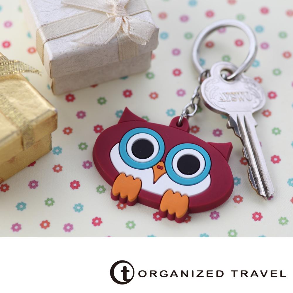 Organized Travel-動物鑰匙圈-貓頭鷹