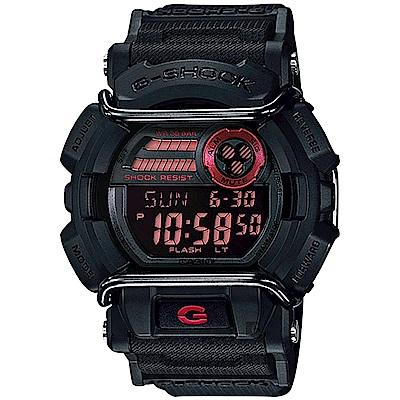 CASIO卡西歐G-SHOCK經典防撞手錶-酷黑