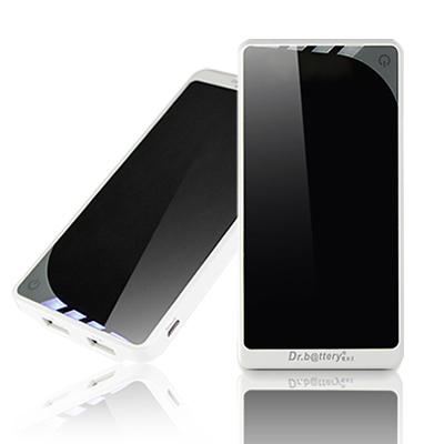 電池王  鏡面情人9600mAh雙USB行動電源