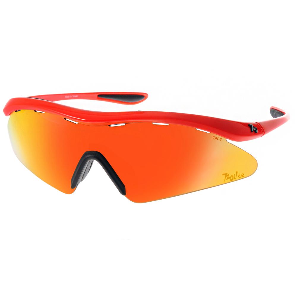 720運動太陽眼鏡 暢銷鏡款/橘-水銀橘紅#720T337 C08