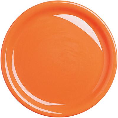 EXCELSA Fashion陶製淺餐盤(橘26.5cm)
