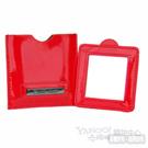 Calvin Klein 極簡風格鮮紅色亮面萬用隨身鏡