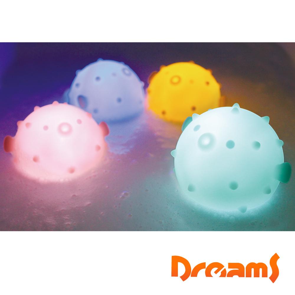 Dreams元氣河豚 泡澡LED氣氛浴燈-櫻花粉