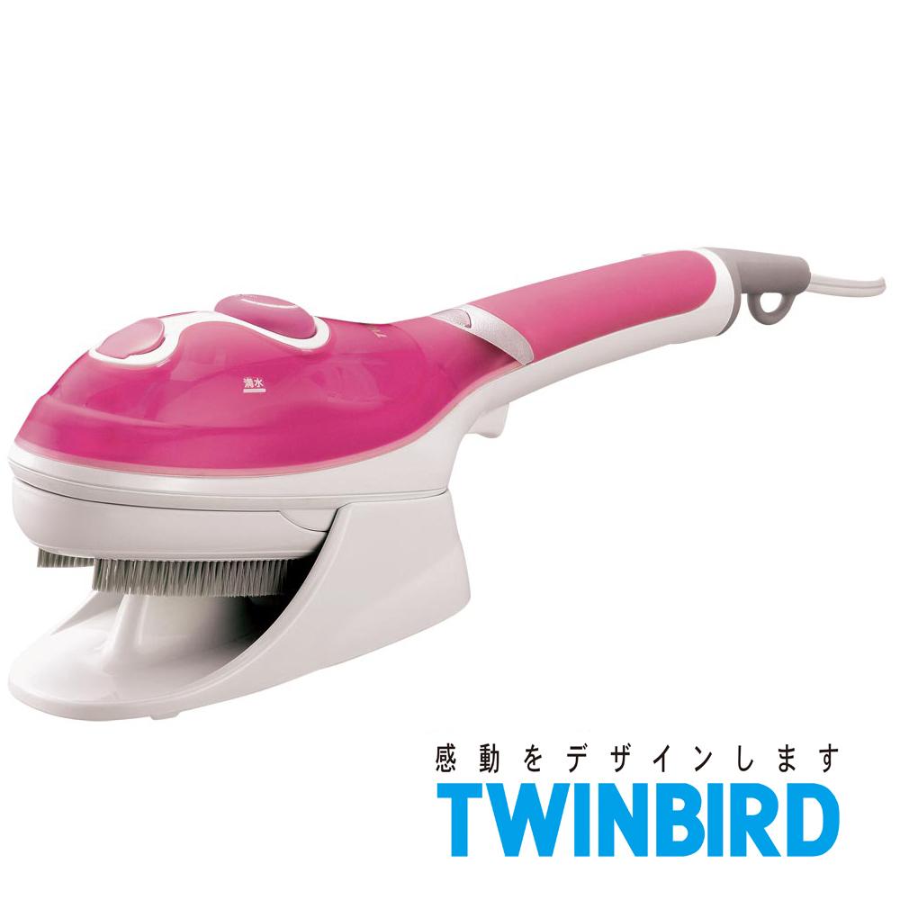 日本TWINBIRD-手持式蒸氣熨斗(粉)SA-4084TWP